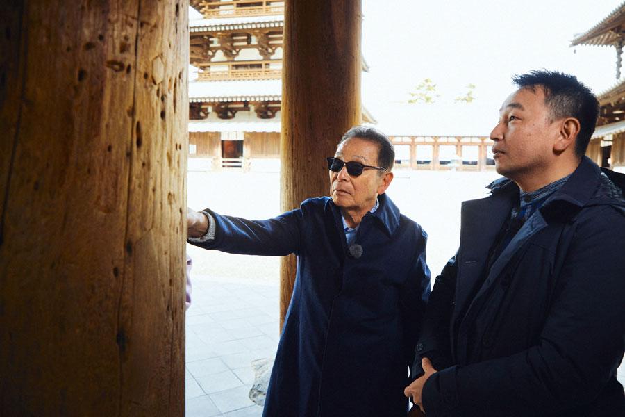 世界最古の木造建築を支える木の秘密に迫る