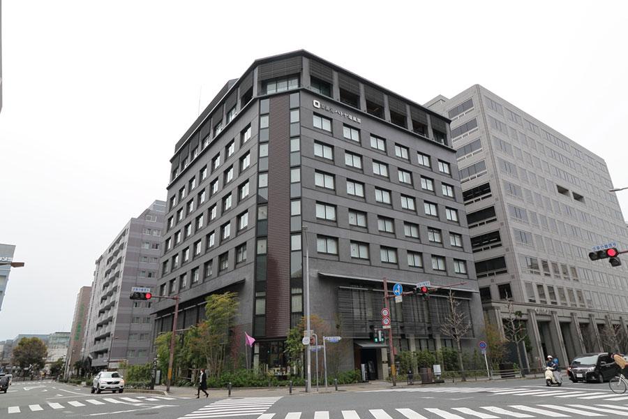 JR京都駅から徒歩5分のところにある「京湯元 ハトヤ瑞鳳閣」