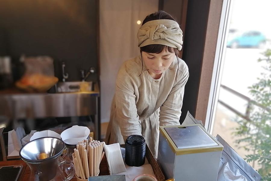 カフェ「森のオト」「kozora cafe house」などを手掛ける藤江さん
