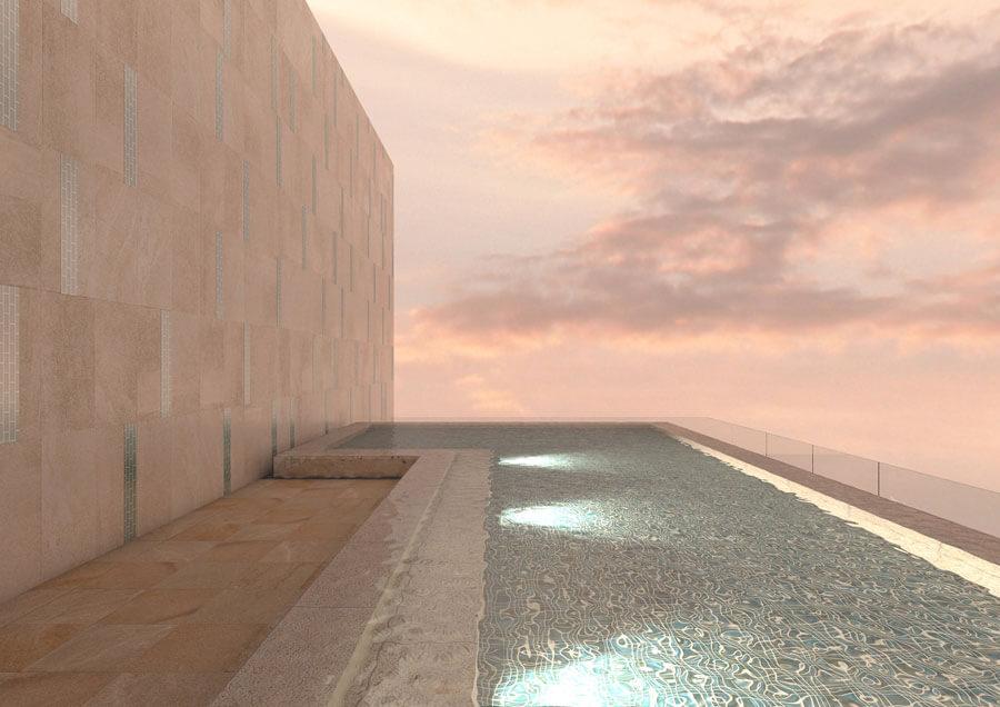 最上階には、紀の川を絶景露天風呂付大浴場を備えたスパが設けられる「カンデオホテルズ和歌山」イメージ