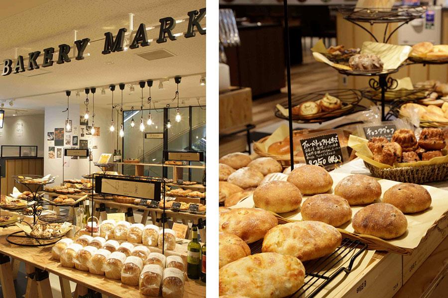 毎日、10店以上から焼きたてパンが1日に数回運ばれてくる。商品イメージ