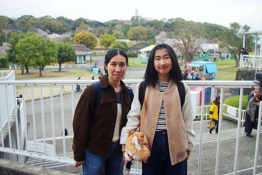 三代に渡って「みさき公園」に通っていた天野さん親子(3月31日・みさき公園)