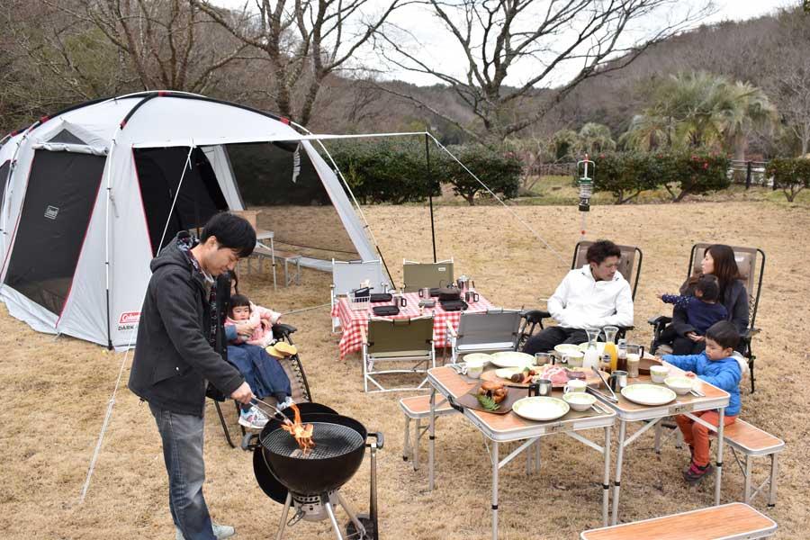 手軽に本格的なキャンプを楽しめる「ネスタ・ネイチャー・キャンプフィールド」