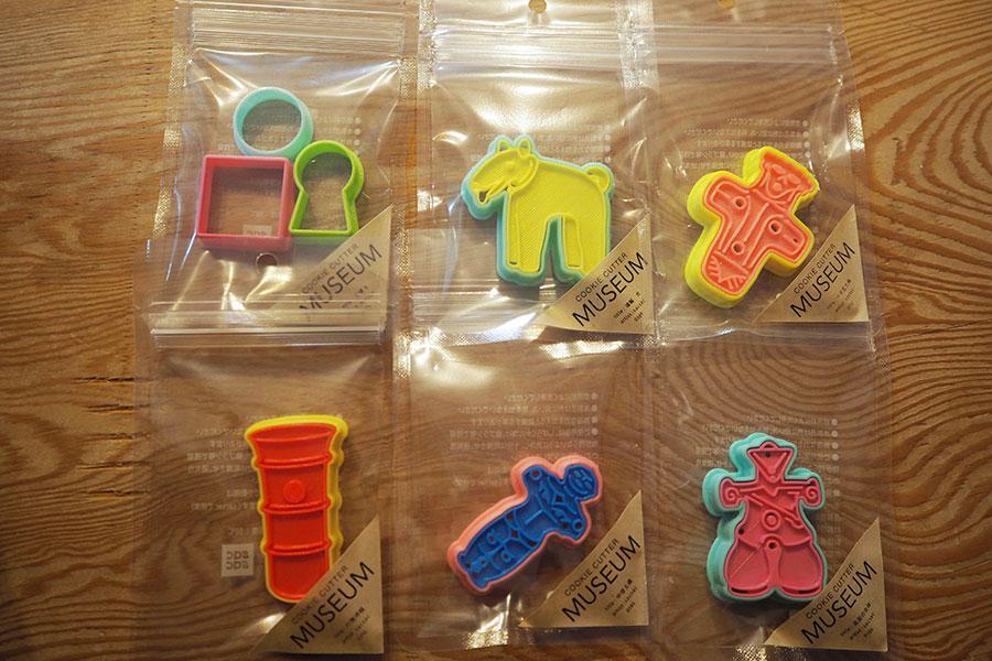古墳や土偶、埴輪などのクッキー型