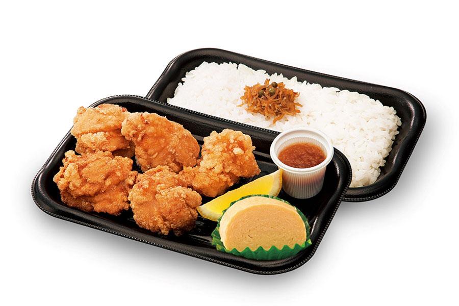 「和食さと」のテイクアウトメニューが半額に。写真は「若鶏の唐揚げ弁当」(498円→249円+税)