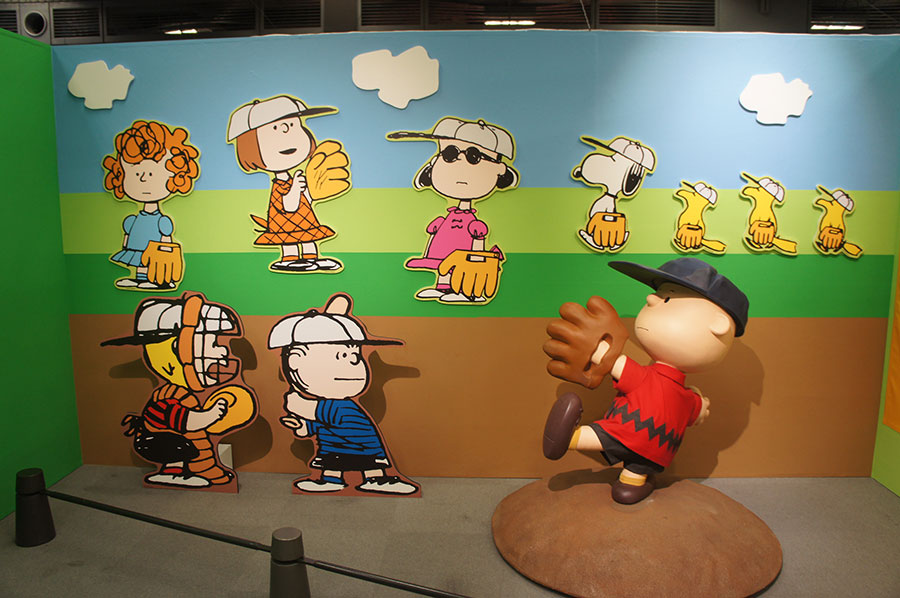 年代別展示 野球をテーマにしたコーナー(1960年代)
