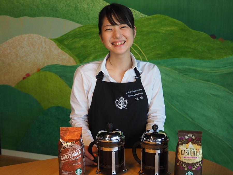 「コーヒーアンバサダーカップ2019」で優勝した間惣檀さん