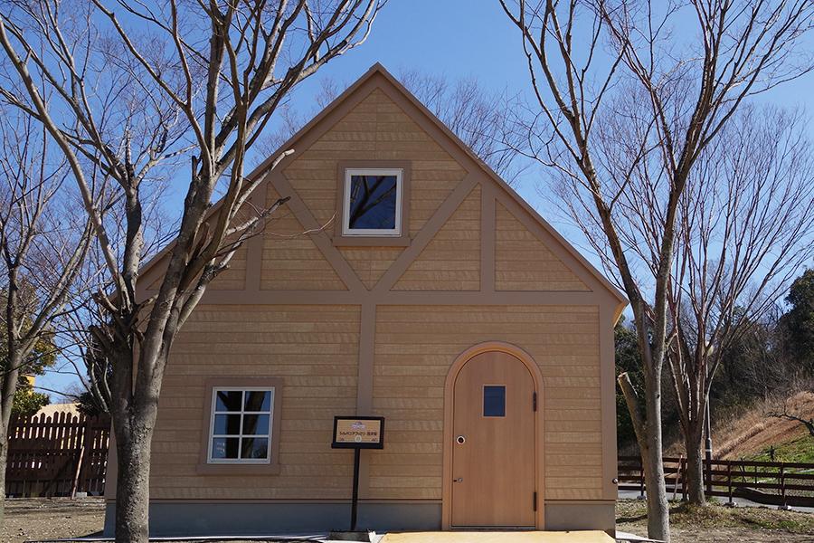初期のハウスをイメージした「シルバニアファミリー歴史館」
