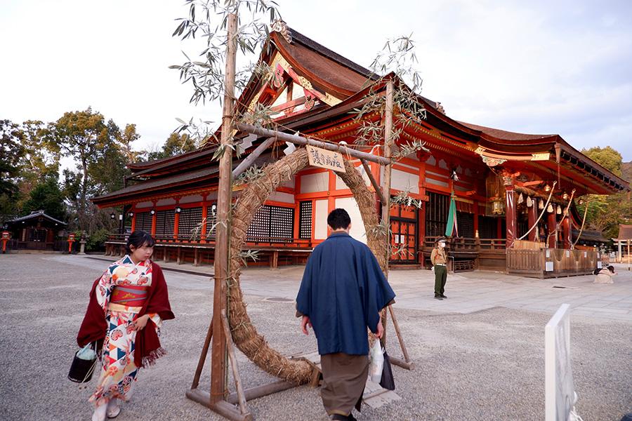 茅の輪 くぐり 京都