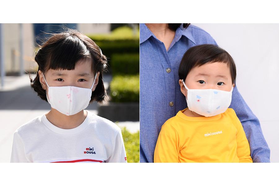 抗ウイルスの子ども用マスク、人気ブランドが前倒しで販売