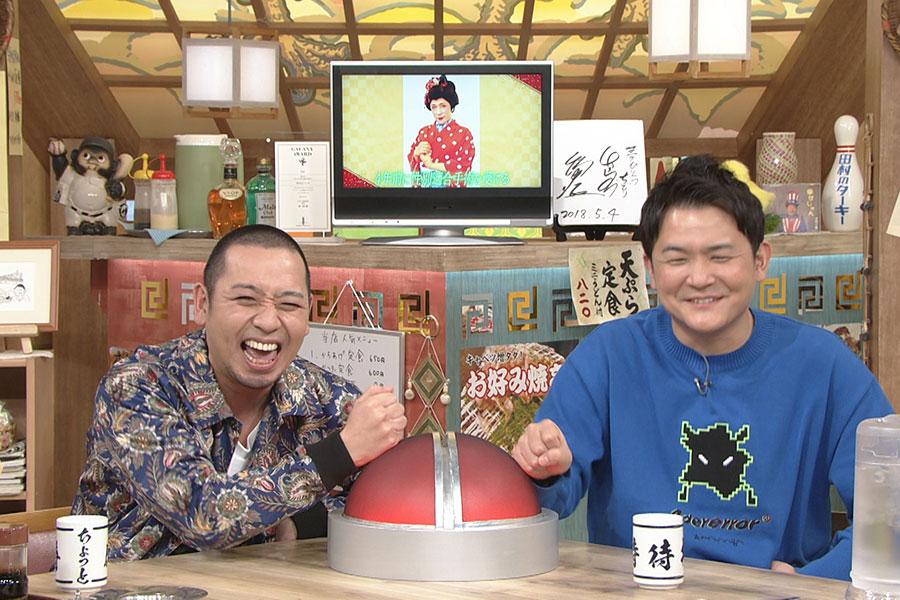 KABA.ちゃんの変貌ぶりに驚く千鳥 (C)ABCテレビ