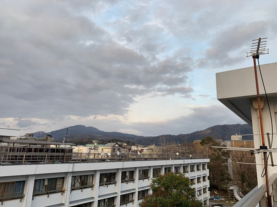 熊野寮の景色(提供:京都大学 熊野寮自治会)