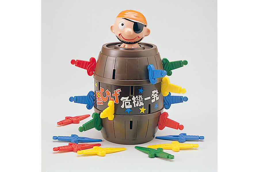 1975年に発売された初代「黒ひげ危機一発ゲーム」© TOMY