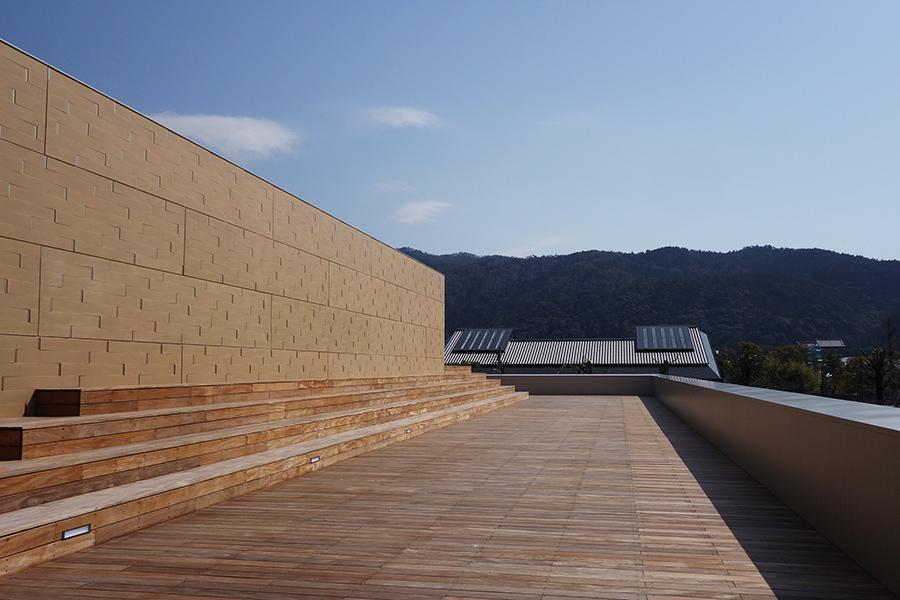 東山キューブテラスからは京都の景色を一望できる