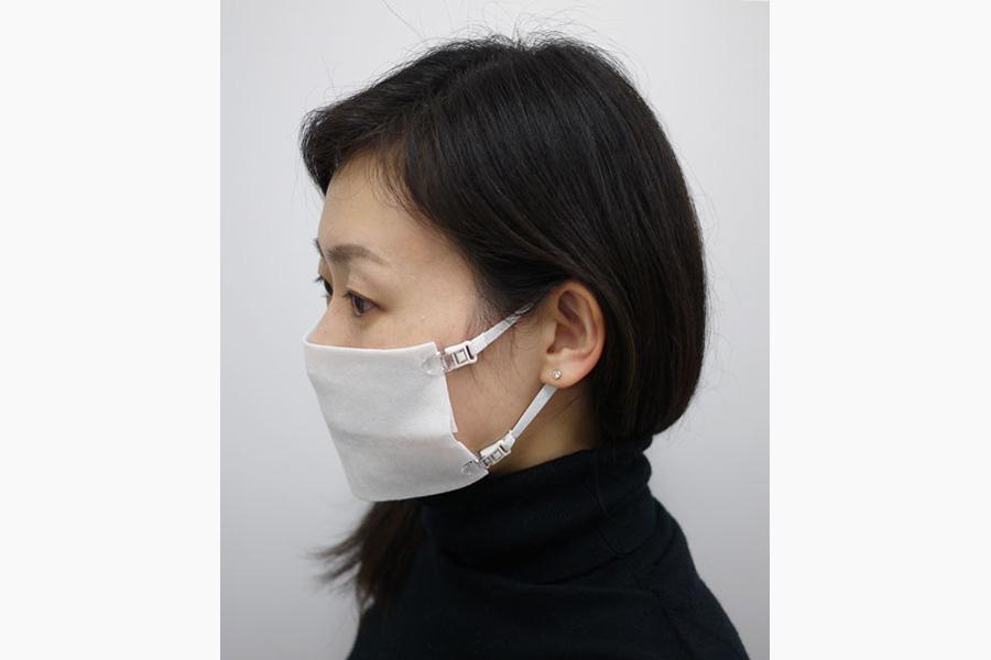なんでも即マスクになる専用ストラップに、大きな反響