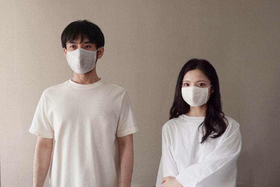 伝統を守る「西陣織」マスク、京都在住のデザイナーが開発