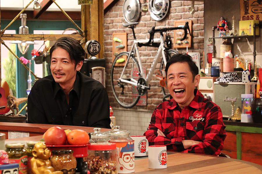 ナイナイ岡村、玉木宏に「緊張するシーンは?」など直球質問