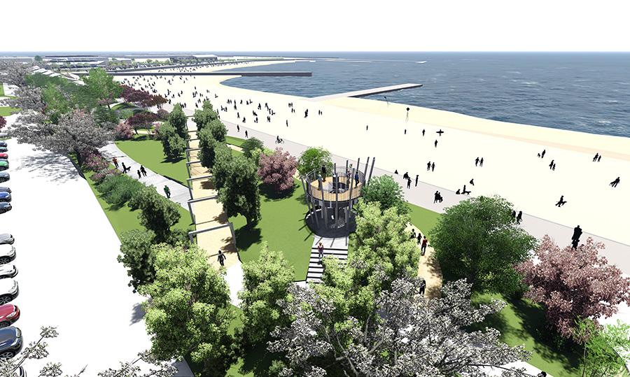 都市型キャンプにBBQ、大阪・泉南りんくう公園がオープン