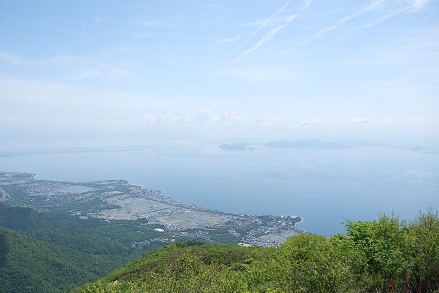 滋賀・びわ湖の景色