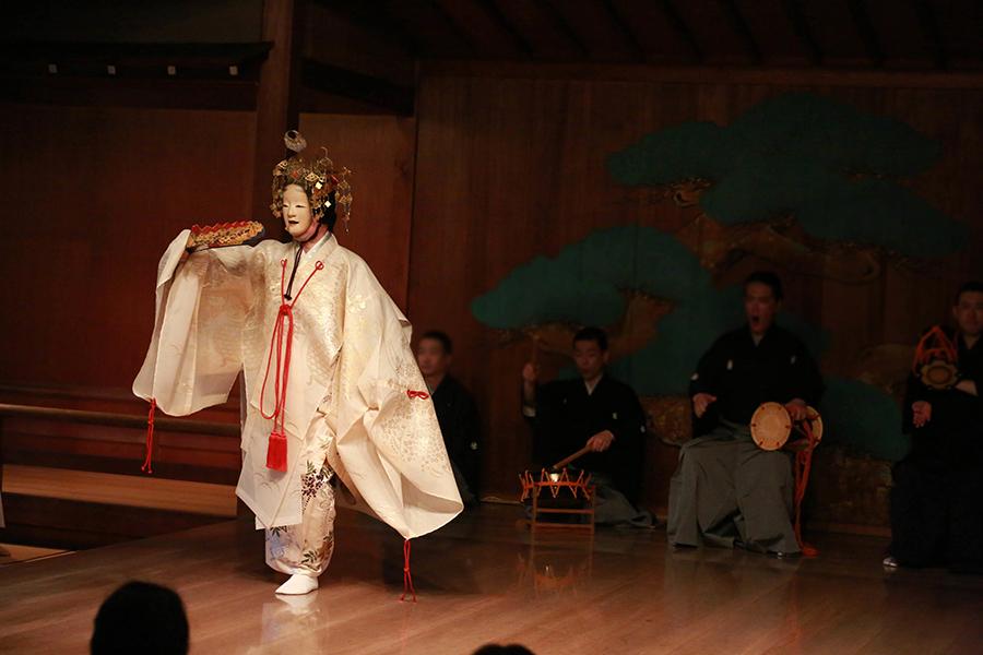2016年 第1回春青能・演目「羽衣」