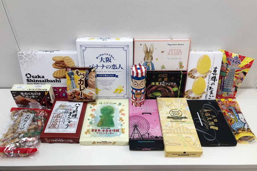 賞味期限間近になったお土産を福袋で販売する取り組みもおこなっており、1万円相当のお土産が5千円で購入できることから人気に。早い日は1時間もしないうちに売り切れるという