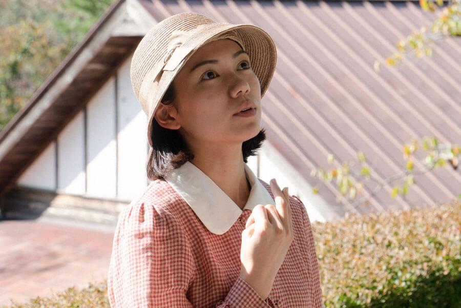 指折り数える音(二階堂ふみ)(C)NHK