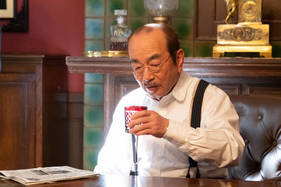 第25回より、日本を代表する西洋音楽の作曲家・小山田耕三(志村けん) (C)NHK