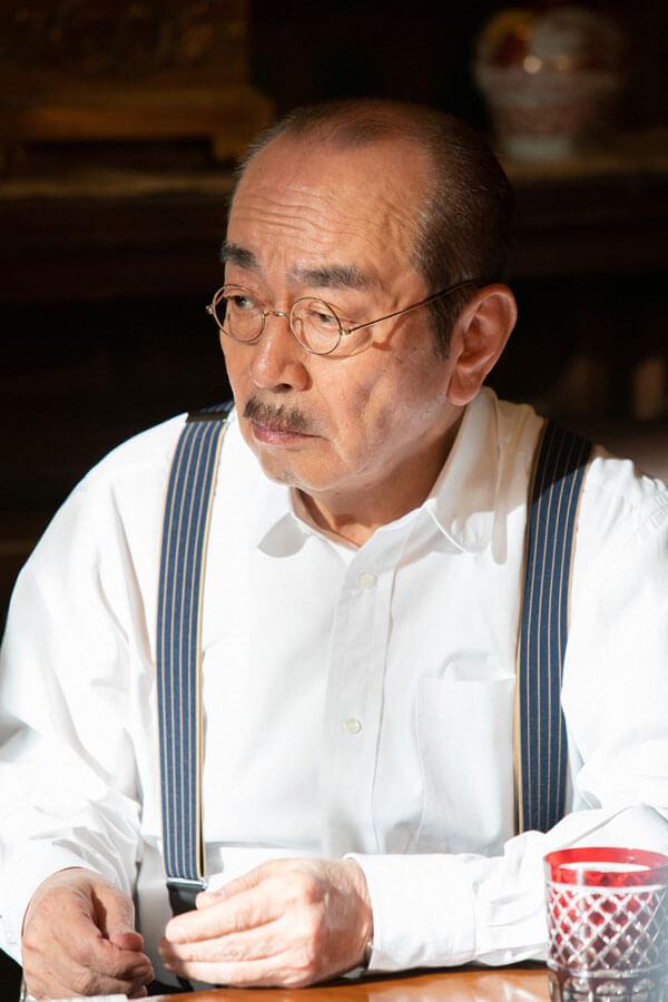 日本を代表する西洋音楽の作曲家・小山田耕三(志村けん) (C)NHK