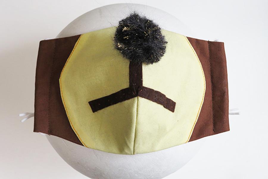 SNSでかわいいと話題、京都市動物園提案の「どうぶつマスク」