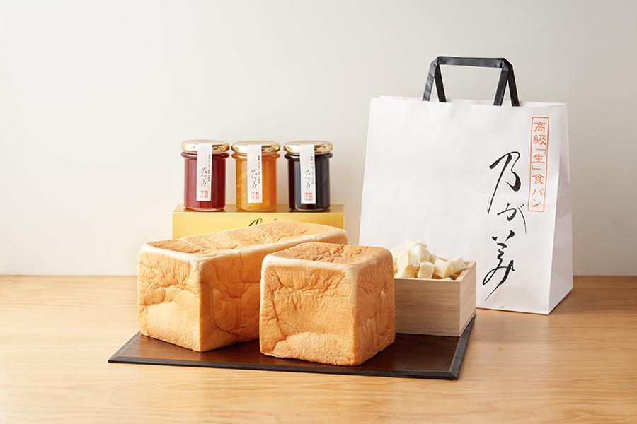 「乃が美」で販売するのは、食パン、ジャム、クルトンのみ
