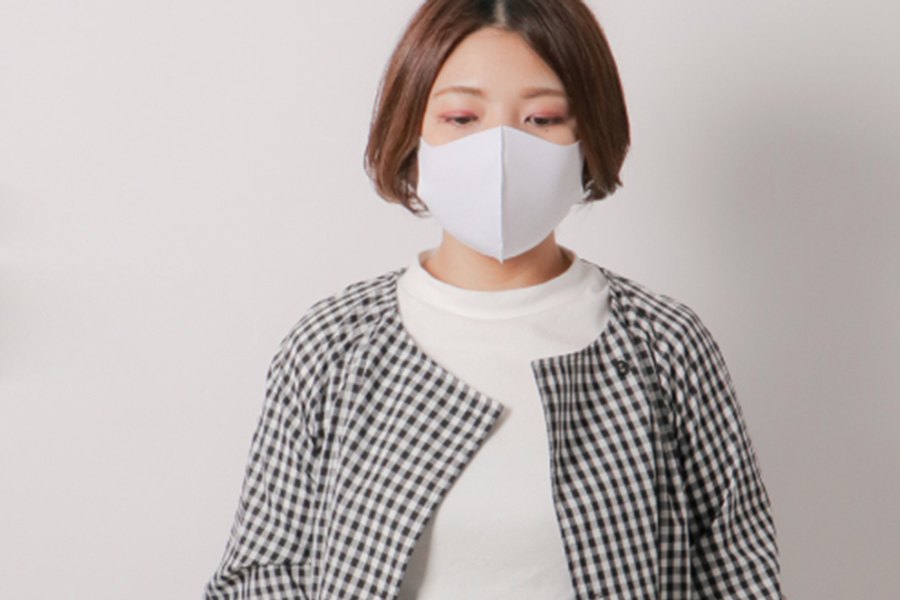 夏はひんやり感を、イオンによる新マスク