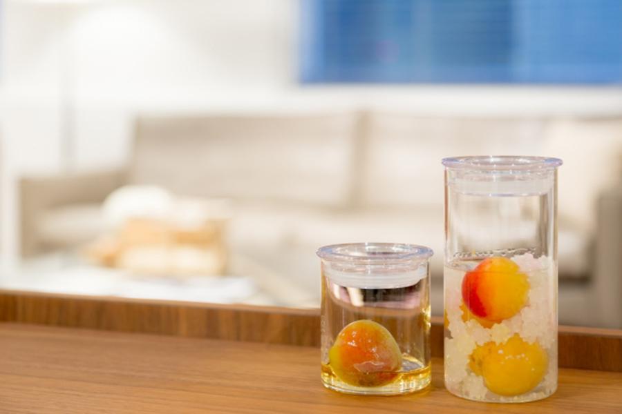 「チョーヤ梅酒」の蝶矢梅キット。梅や砂糖が選べるのも魅力
