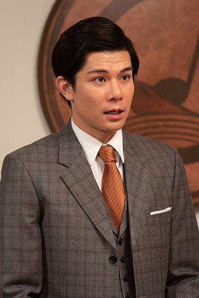 第36回より、コロンブスレコードの歌手・山藤太郎(柿澤勇人)(C)NHK