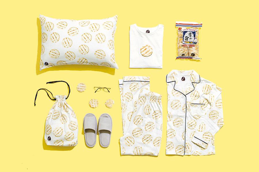 「雪の宿パジャマ(レディース)」(6050円)など。メンズ用も販売