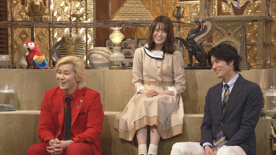 ゲストはカズレーザー、乃木坂46・山崎怜奈、岩永徹也(C)NHK