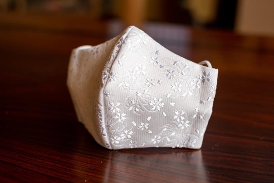 乱菊桜マスク(縫製タイプ)900円