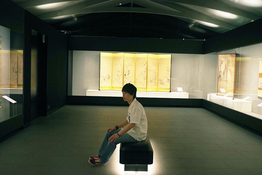 京都らしく、和が感じられるように2階の天井は蔵をイメージしているそうです