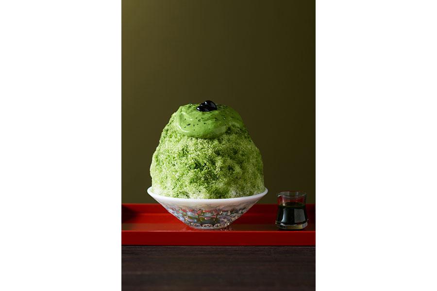 リニューアルされた「宇治抹茶だいふく氷」(1290円)