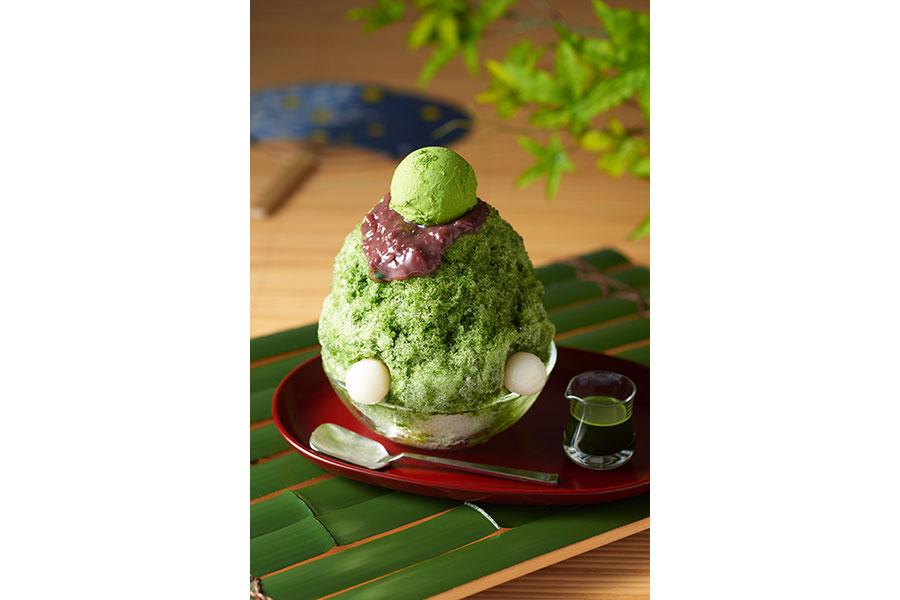 「ふわふわ氷の宇治金時」(990円~)