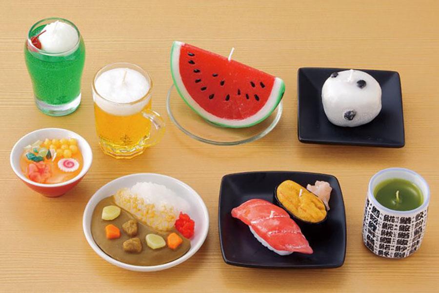 寿司やあずきバーのリアルローソク…実際の用途が意外すぎた