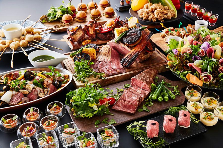 バラエティ豊かな肉料理を楽しめる「サマーミートコレクション」