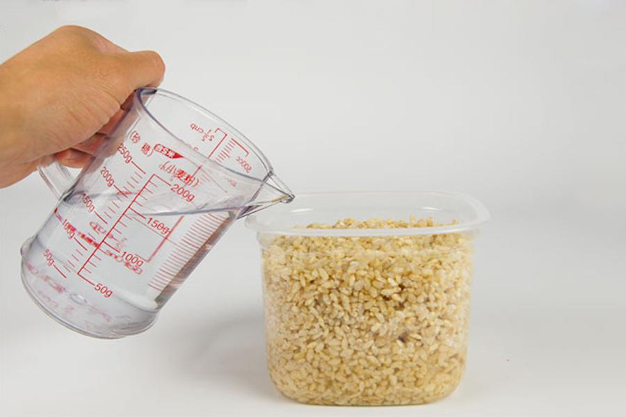 水につけておくだけで簡単。「マルカワみそ」の自然栽培の塩麹手作りセット