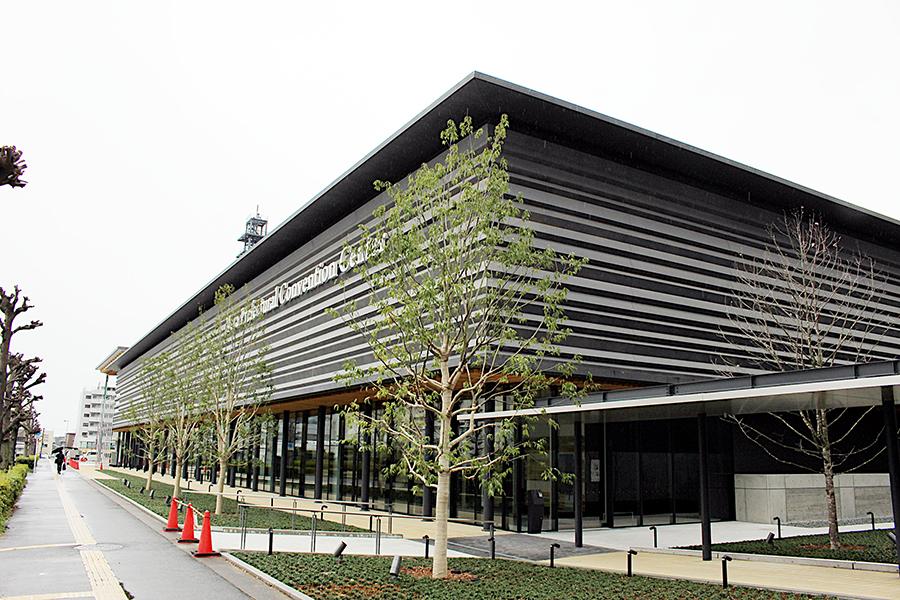 4月1日に開業した奈良県最大の会議場・観光交流拠点「奈良県コンベンションセンター」
