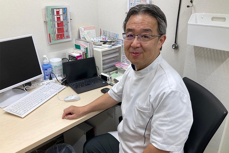 「江戸堀サンテクリニック」(大阪西区)の古谷鉄夫医院長