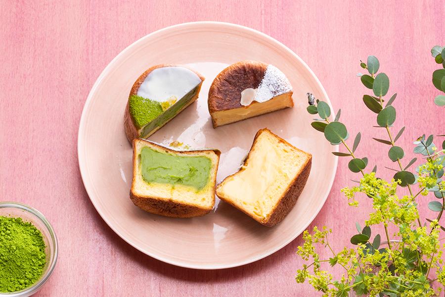 「クリームパン抹茶」(280円・税別)