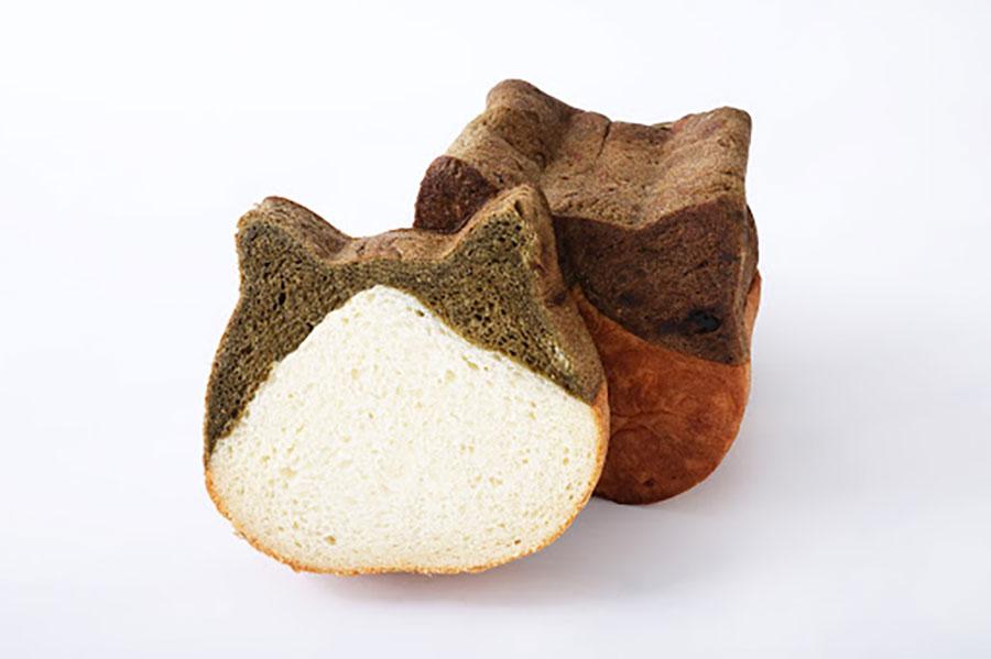 6月限定「ねこねこ食パン ほうじ茶」(680円・税別)。全国の店舗とオンラインショップで販売