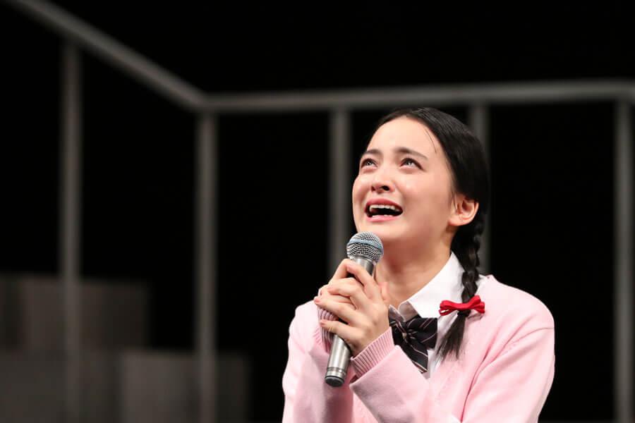 『はい!丸尾不動産です。~本日、家に化けて出ます~』で女子高生の幽霊となった老婆を演じた清井咲希