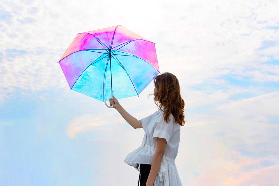 「Wpc.」のオーロラビニール傘