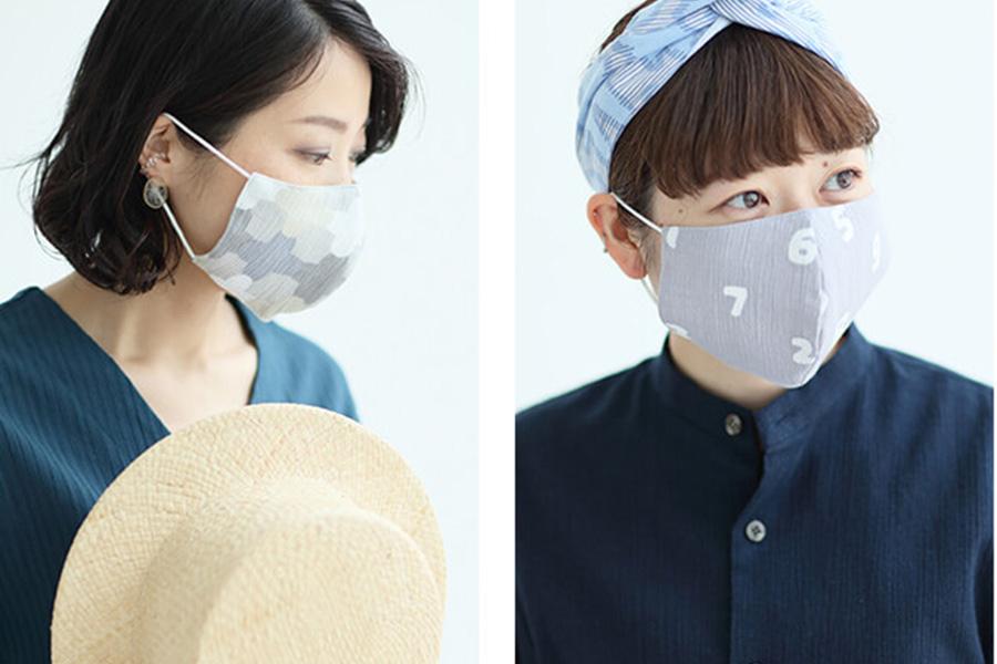 装着時の様子。高島縮は、吸汗性・速乾性・通気性・吸湿性・放湿性に優れた機能素材