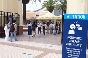変わるUSJの入場方法、当日販売は無くゲートの外で待機